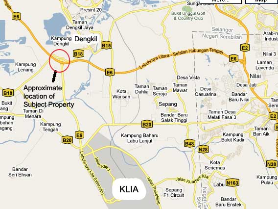 Dengkil Malaysia  city pictures gallery : Dengkil 2 acres